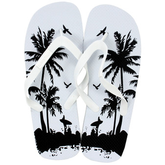 Mens Printed Thongs | Prices Plus