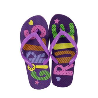 Girls Printed Thongs | Prices Plus