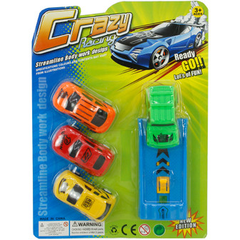 Cars and Launcher Set | Prices Plus