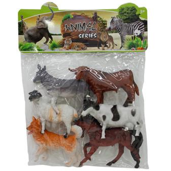 Farm Animals 6 PCE | Prices Plus