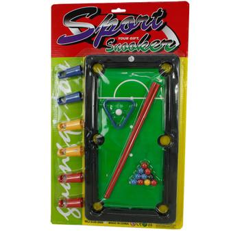 Mini Snooker Game Set | Prices Plus
