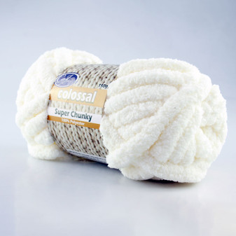 Cast On Super Chunky Knitting Yarn 150 gram Creme - 10 pack | Prices Plus