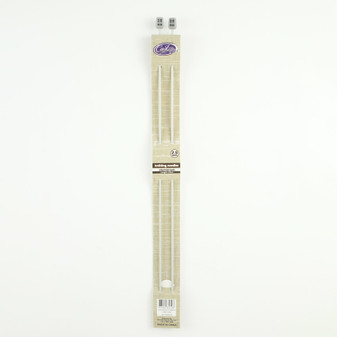 Cast On Aluminium Knitting Needles 35cm - 2.5mm | Prices Plus