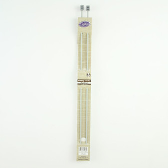 Cast On Aluminium Knitting Needles 35cm - 3.5mm | Prices Plus