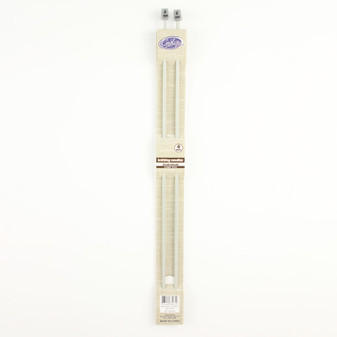 Cast On Aluminium Knitting Needles 35cm - 4.0mm | Prices Plus