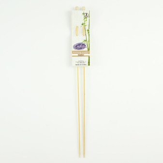 Cast On Bamboo Knitting Needles 35cm - 3.0mm | Prices Plus