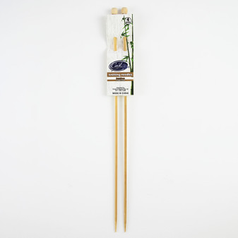 Cast On Bamboo Knitting Needles 35cm - 4.0mm | Prices Plus