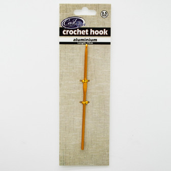 Cast On Metallic Crochet Hook 15cm - 3.5mm | Prices Plus
