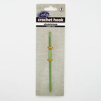 Cast On Metallic Crochet Hook 15cm - 4.0mm | Prices Plus