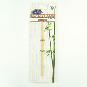 Cast On Bamboo Crochet Hook 15cm - 4.0mm | Prices Plus