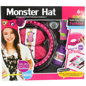 Monster Hat Weaving Set | Prices Plus