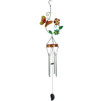 Flower and Butterfly Windchime | Prices Plus
