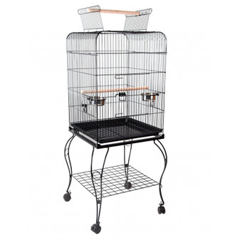Ruckus & Co Parrot Cage with Open Roof | Prices Plus