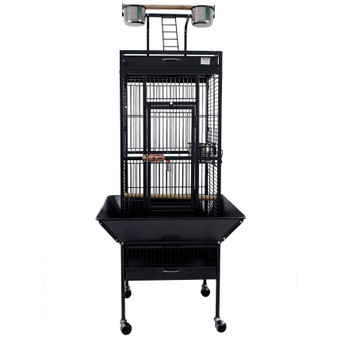 Ruckus & Co Large Parrot Cage with Open Roof | Prices Plus