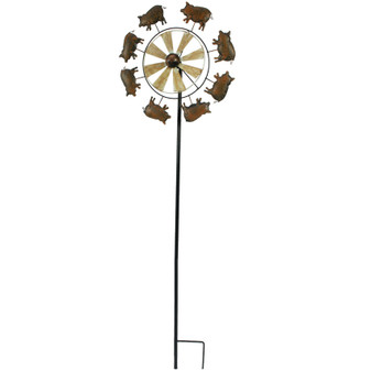 Farm Garden Stake Windmill