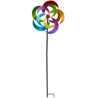 Flower Garden Stake Windmill | Prices Plus