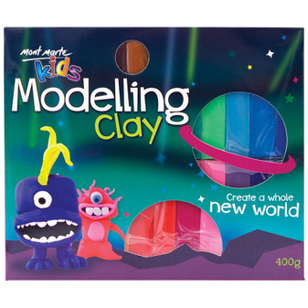 Mont Marte Kids Modelling Clay 24PK | Prices Plus