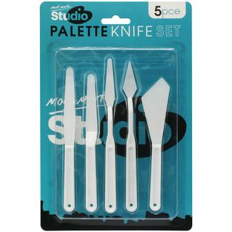 Mont Marte Studio Palette Knife Set 5pce | Prices Plus