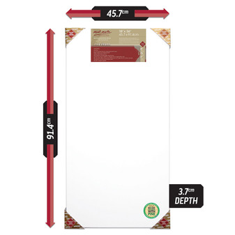 Mont Marte Double Thick Canvas 45.7 x 91.4cm | Prices Plus