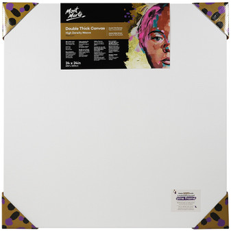 Mont Marte Double Thick Canvas 60.9 x 60.9cm | Prices Plus
