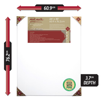 Mont Marte Double Thick Canvas 60.9 x 76.2cm | Prices Plus