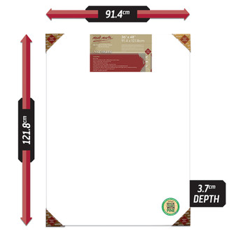 Mont Marte Double Thick Canvas Pine Frame 91.4x121.8cm | Prices Plus