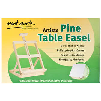 Mont Marte Small Pine Table Easel | Prices Plus