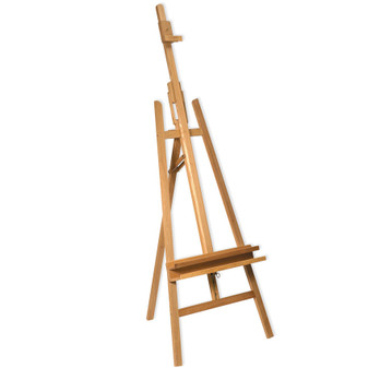 Mont Marte Beech Wood Floor Easel With Tilt  | Prices Plus