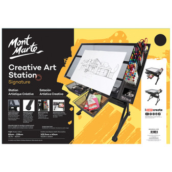 Mont Marte Signature Creative Art Station | Prices Plus