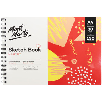 Mont Marte Discovery Sketch Book 150gsm A4   Prices Plus