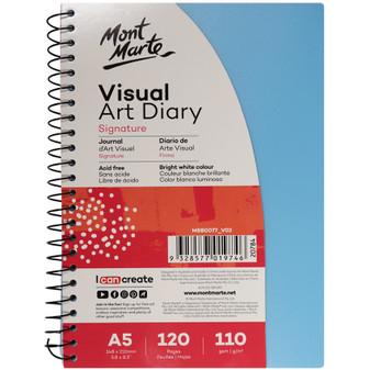 Mont Marte Colour Cover Visual Art Diary A5   Prices Plus