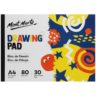Mont Marte Drawing Pad 30 Sheets A4 | Prices Plus