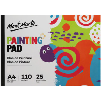 Mont Marte Painting Pad 25 Sheets A4   Prices Plus