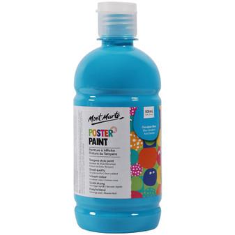 Mont Marte Kids Poster Paint 500ml Blue | Prices Plus