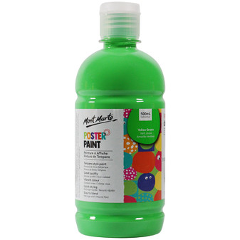 Mont Marte Kids Poster Paint 500ml Green | Prices Plus