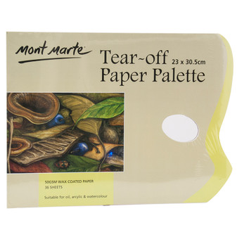 Mont Marte Tear Off Palette Pad 36 sheet | Prices Plus