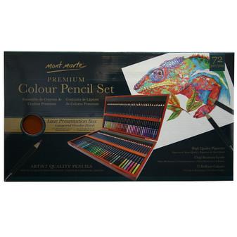 Mont Marte Coloured Pencil Box 72pce|Prices Plus