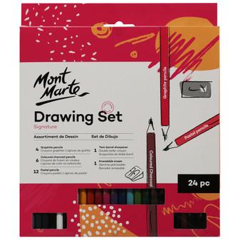 Mont Marte Drawing Set 24pce