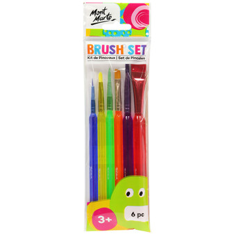 Mont Marte Artist Brush Set 6pce|Prices Plus