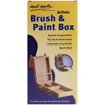 Mont Marte Brush and Paint Box Small