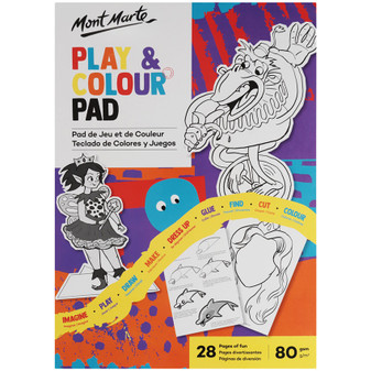 Mont Marte Play and Colour Pad A4 Prices Plus