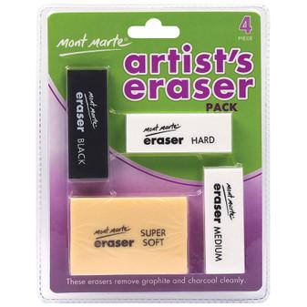 Mont Marte Artists Eraser Pack
