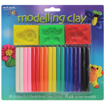 Mont Marte Kids Colourful Modelling Clay Set