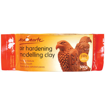 Mont Marte Air Drying Modelling Clay 500g Terra