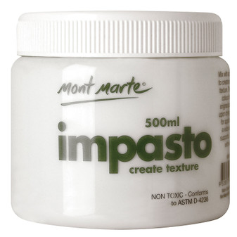 Mont Marte Impasto Tub 500ml|Prices Plus