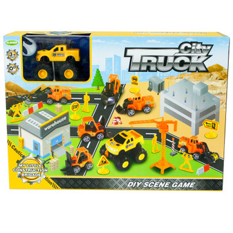 Play Scene Construction Trucks| Prices Plus