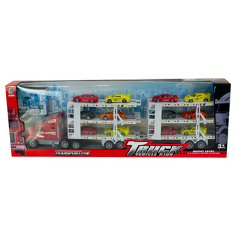 Truck Transporter With Racing Cars| Prices Plus