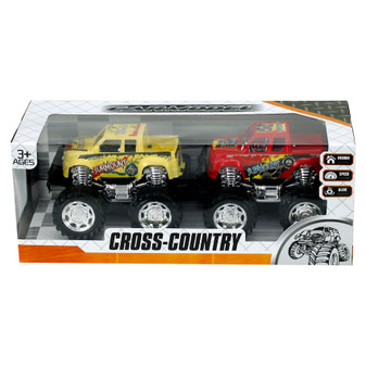 Friction Power Cross Country Cars  2PK| Prices Plus