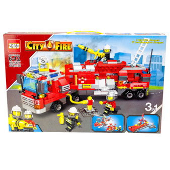 Building Blocks City Fire  | Prices Plus