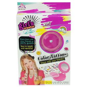 Girl's Creator Coloured Tattoos Set | Prices Plus